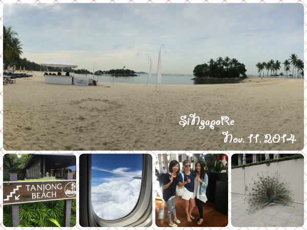 【新加坡】Day 4。Tanjong Beach.歸國