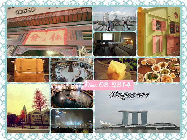 【新加坡】Day 1。松發肉骨茶.克拉碼頭.魚尾獅公園.金沙購物商城