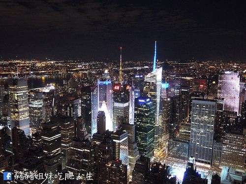 【紐約】帝國大廈觀景台 Empire State Building 世界天龍國令人感動的無敵夜景